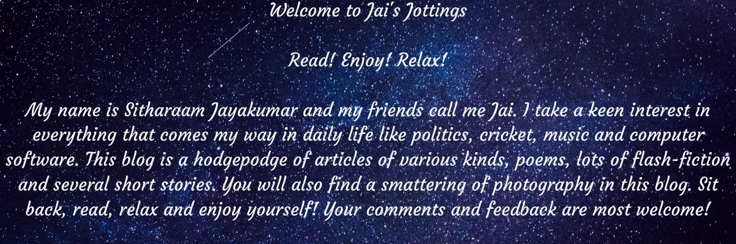 Jai's Jottings